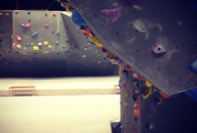 My sportpics / Bouldering is a form of artificial sportclimbing.
