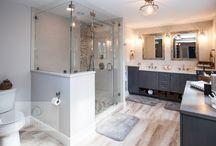Cool Contemporary Bath - Norwell, MA