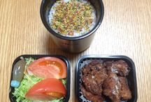Bento / Japanese lunch boxes I've made