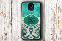 Monogrammed Samsung cases