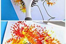 τεχνικές χρώματος