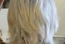 Kapsel grijs haar