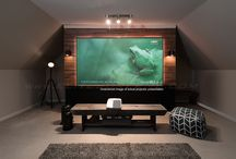 Fixed Frame Projection Screen