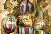 Картинки. Вино и виноград