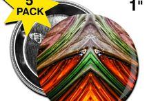 Buttons & Anstecker / Buttons und Anstecker große Auswahl zu Günstigen Preisen.  kreativ+bunt+farbenfroh+stylisch+fresh+kunst+art+abstrakt+städte+länder+mode+farben+formen