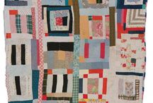 Inner Gees Bend / improv quilts