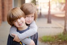 Sibling poses / by Stephanie Penney