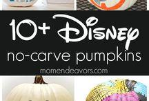 painting pumpkins halloween