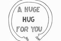 hugs and fluffs
