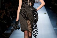 Contemporary fashion - Fabric manipulation / Haute Couture fashion with fabric manipulation