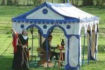 medevil tents