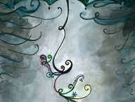 Whimsy & Lore: Dining Design / Tim Burton. Color. Stories, traditions, mythology.