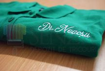 Tricouri brodate/ Embroded tshirts / Broderie pentru tricouri, geci, sorturi si alte produse de genul. Embrodery for clothes.