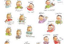 ORBIE - Maternage / Materning illustrations / Mes illustrations ayant un lien avec le maternage, l'allaitement, l'accouchement, la grossesse, le langage des signes de bébé et les jeux d'enfants.  My illustrations about materning, breastfeeding, pregnancy, delivery, baby's sign language and kid's games