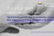 It's Your Turn (Seniors Preparedness) / They tucked you in. They got you to school on time. They kept you safe. Parents, grandparents, aunts and uncles took good care of you. Now it's your turn to help them. Parents, grandparents, aunts and uncles took good care of you. Now it's your turn to help them. Adults aged 65 and older may have difficulty preparing for disasters independently. They may not even recognize the potential hazards. Give back by making sure they do by helping them get prepared.