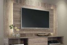 TV wall/vegg