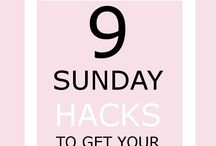 Life Hacks / Pins and posts about life hacks, getting organized and being successful.