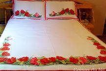 pintura en sábanas