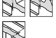 Budowa hal / śruby do płyt chłodniczych, Budowa hal, Kaloty dachowe, Budowa chłodni i mroźni, Wkręty i łączniki do płyt warstwowych
