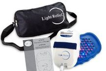 Light Relief Infrared Pain Relief Device / Light Relief Infrared Pain Relief Device - 90LR15LR01 Bundle With Extra Large Pad - 10LR01PD01. Light Relief Light Therapy is a light therapy device designed to naturally soothe aches and pains in muscles and joints, with no side effects.