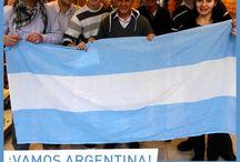 ¡Vamos Argentina! / Todo el equipo Batistella, de distintas sucursales, alienta a la Selección en este Mundial 2014 ¡Vamos Argentina! / by Calzados Batistella