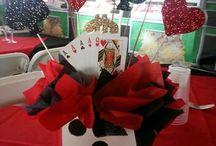cards centre pieced