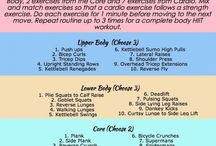 A great workout for the best results!