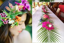 Tropical styled Wedding