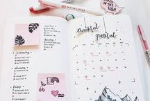 Bullet Journal Planning Organizer Inspiration Ideas