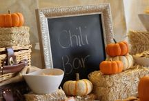 Fall & outdoor entertaining / Food and decor for Fall entertaining indoor/Outside.
