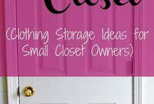 Storage Ideas / Clever ways to store things and reduce clutter