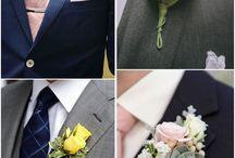 Wedding boutonnière