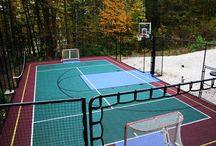 Multi-game Backyard Court
