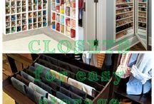 New Closet / by Sandra Kirk