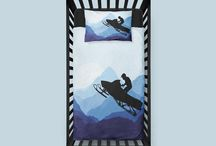 Snowmobile & Snocross Baby Bedding