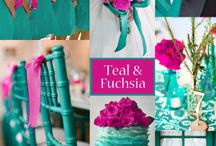 Teal and Fuchsia Wedding Idea / by Dianne Cooley