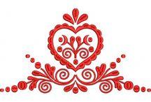 Folklor ornament