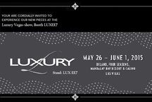 TAKAT AT LUXURY VEGAS SHOW 2015 / Visit us at LUXEE7