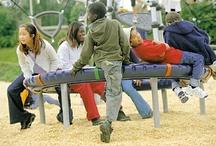 Interesting Playground Equipment / by Strollerparking