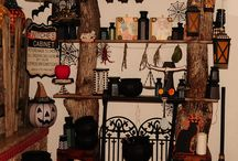 Witches Cabinet - Halloween Challenge 2014 part 1