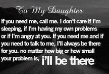 to my lovely daughters