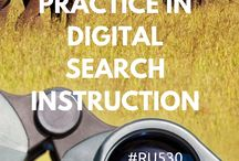 Safari: Effective Practice in Search Instruction / For #RU530 Search Activity #10: Please post your favorite examples of digital instruction relating to search.