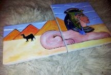 Paintings / My paintings and etc.