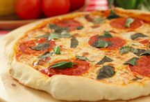 pizza de fogão a lenha