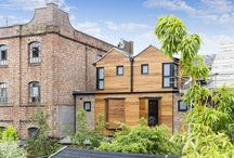 Warehouse Mews, Southborough / Situated within the characterful `Warehouse Quarter` this home and its mirror image twin next door, stand out from the neighbouring properties with their distinctive cutting edge design.