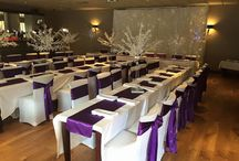 Venue decor / Please find some examples of the decor we have created