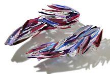 Glass sculptures - interior ideas