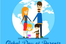 Global Day Of Parents 2016 / The Global Day of  Parents is observed on the 1st of June every year. The Day was proclaimed by  the UN General Assembly in 2012. The Global Day provides an opportunity to  appreciate all parents in all parts of the world for their selfless commitment  to children and their lifelong sacrifice towards nurturing this relationship.