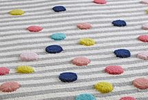 Rugs for Kids Rooms / Rugs can be used as a spot of fun and play and can also bring a warm decoration to the space. Be inspired by these sweet pieces!