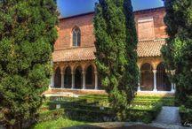L'ensemble conventuel des Jacobins / L'ensemble conventuel des Jacobins à Toulouse en France